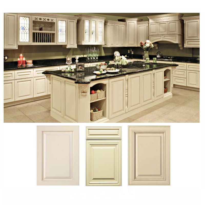Antique Style New Model Wood Kitchen Cabinets for Sale from China Factory