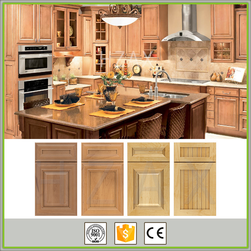 Design Solid Wood Kitchen Cabinet High Quality Modern Base Cabinets Graphic Design Handle & Knob Plywood MDF Hotel CLASSIC
