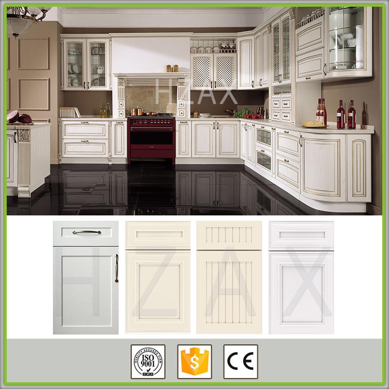 Style Kitchen Cupboard White Modern Small Kitchen Design Solid Wood Kitchen Cabinet