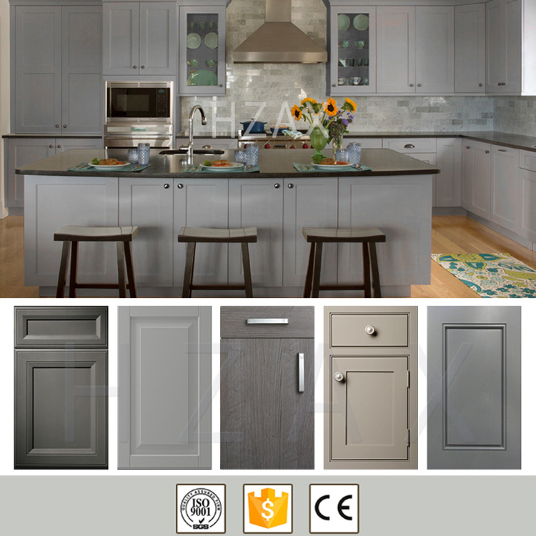 China New Design Kitchen Wall Hanging Cabinet, Solid Wood Kitchen Cabinet