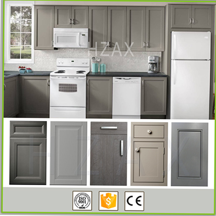 High Quality Modern Small Kitchen Designs of Kitchen Hanging Wood Cabinet
