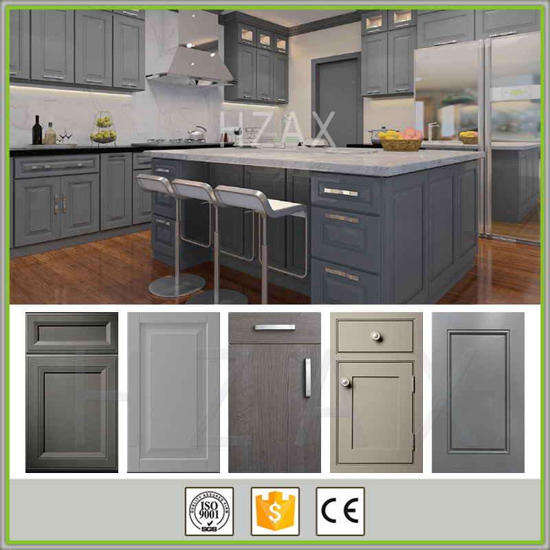Wholesale Wall Hanging Solid Wood Kitchen Cabinets with Good Quality