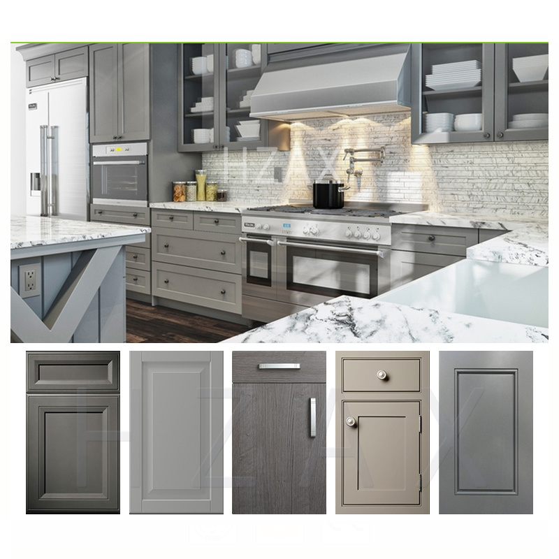New Design Solid Wood Kitchen Wall Hanging Cabinet from China Professional Factory with over 15 Years