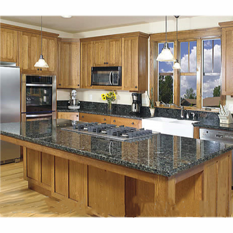 New Trend Latest Solid Wooden China Kitchen Cabinet Latest Wooden Furniture Designs