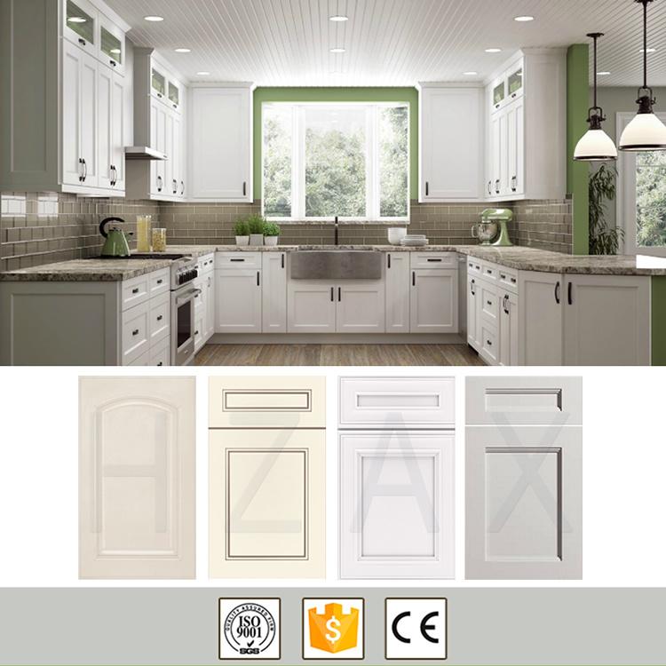 Kitchen Cabinet Door Solid Wood Grey Kitchen Pantry Cabinet