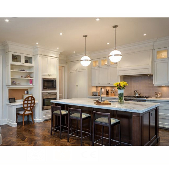Imported wholesale self assemble wood kitchen cabinets from china