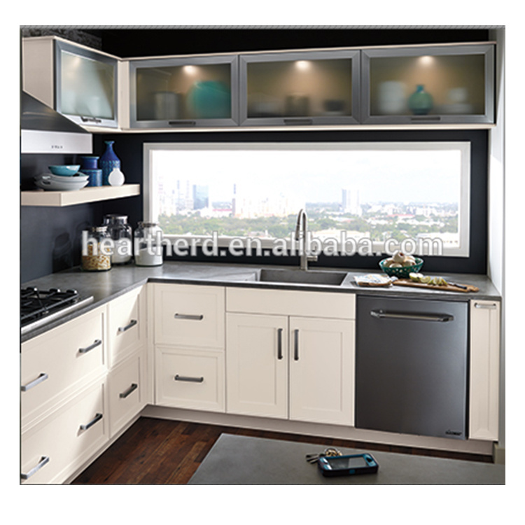 Best modern high gloss modular house hanging american kitchen cabinet