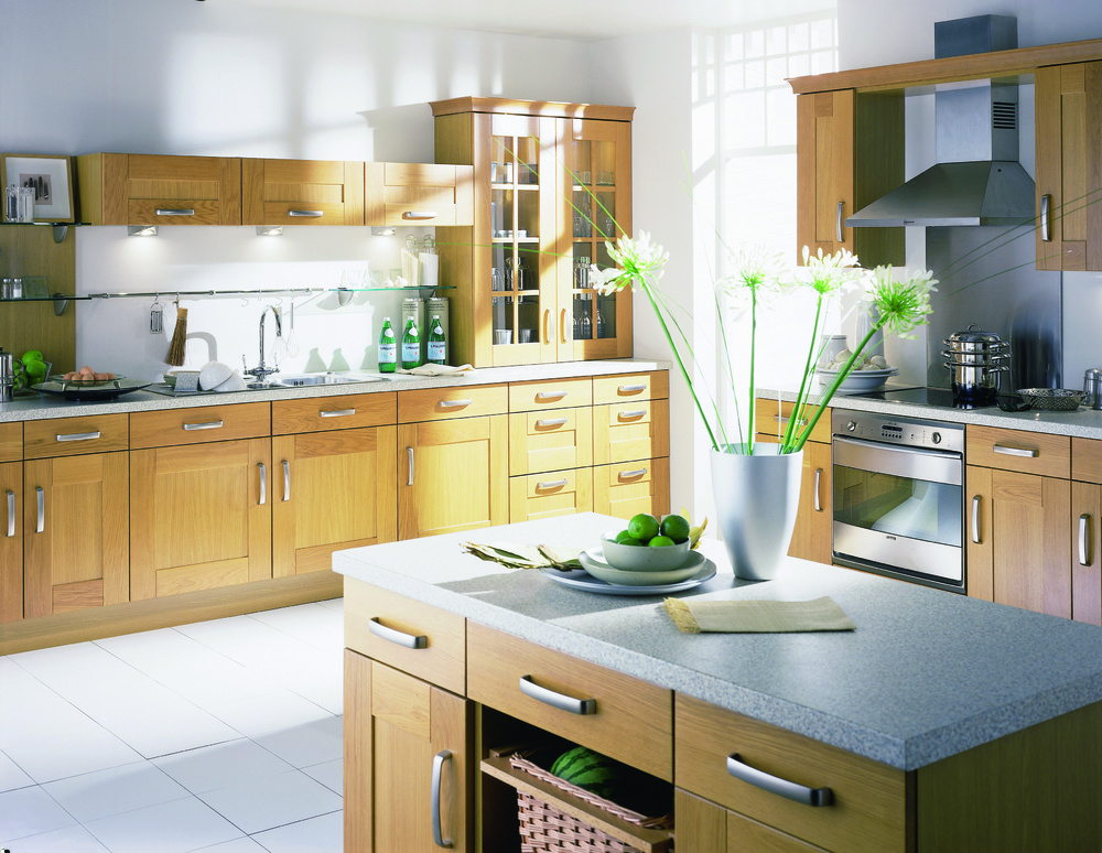 2020 High Quality Online Design Solid Wood New Model Kitchen Cabinet