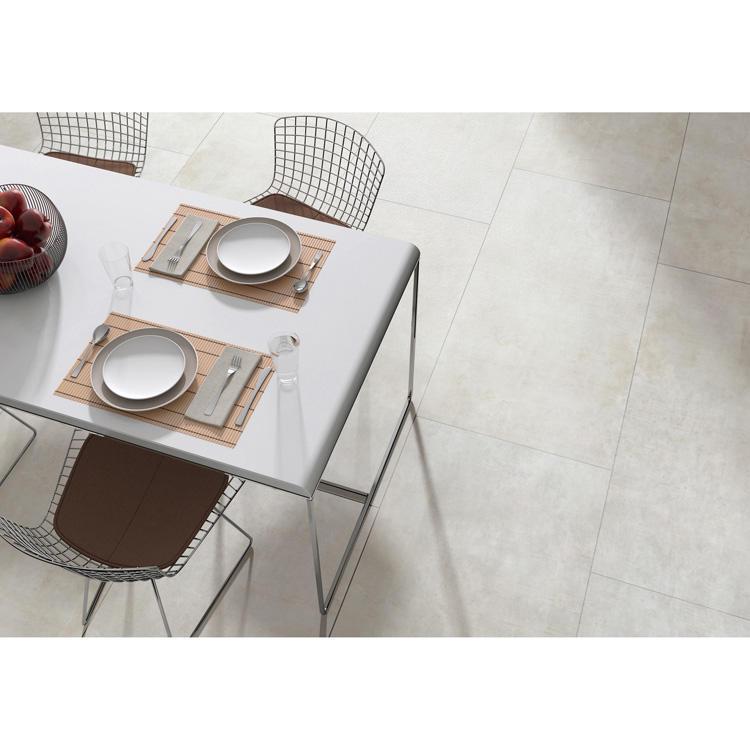 Rustic Concrete Style Matt Finish Porcelain Cement Tile Grey Color Tiles