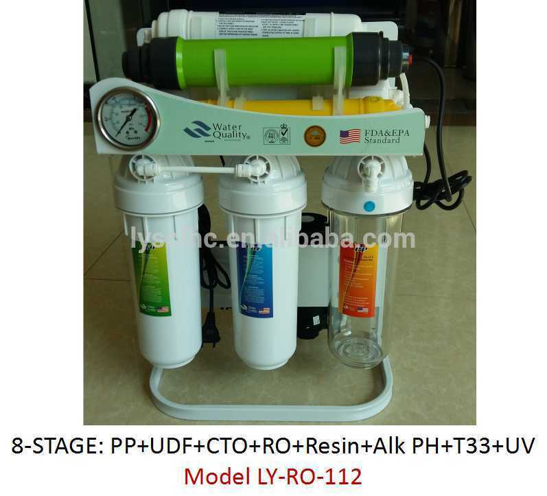 7 Stage Resin softner reverse osmosis water purifiers / purificadores de agua osmosis inversa