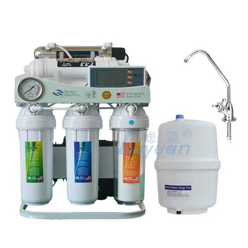 Manufacturer Under Sink Household drinking purifier 5/6/7/8 stages RO system alkaline water filter