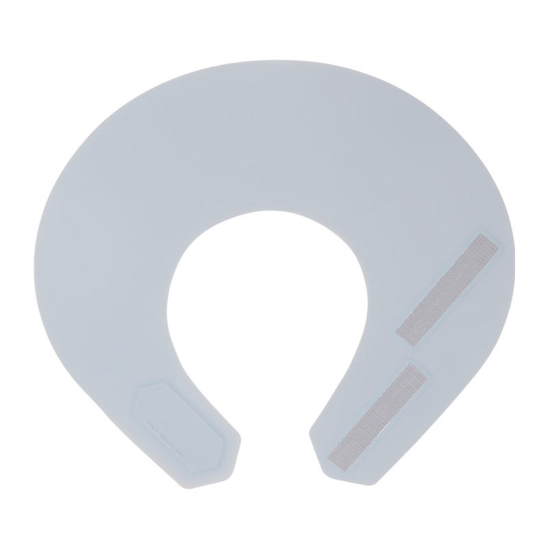 Salon round stylist magnetic silicone waterproof barber cutting collar cape hairdressing