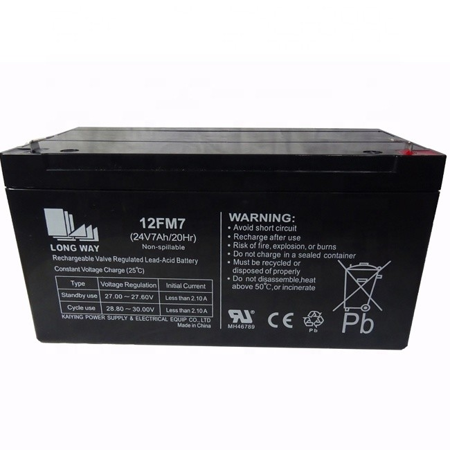 wholesale rechargeable battery for electric toy cars 24v7ah 20hr