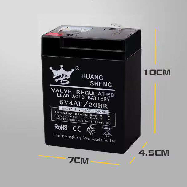 wholesale rechargeable battery 6v 4.0ah for kids ride on toy car
