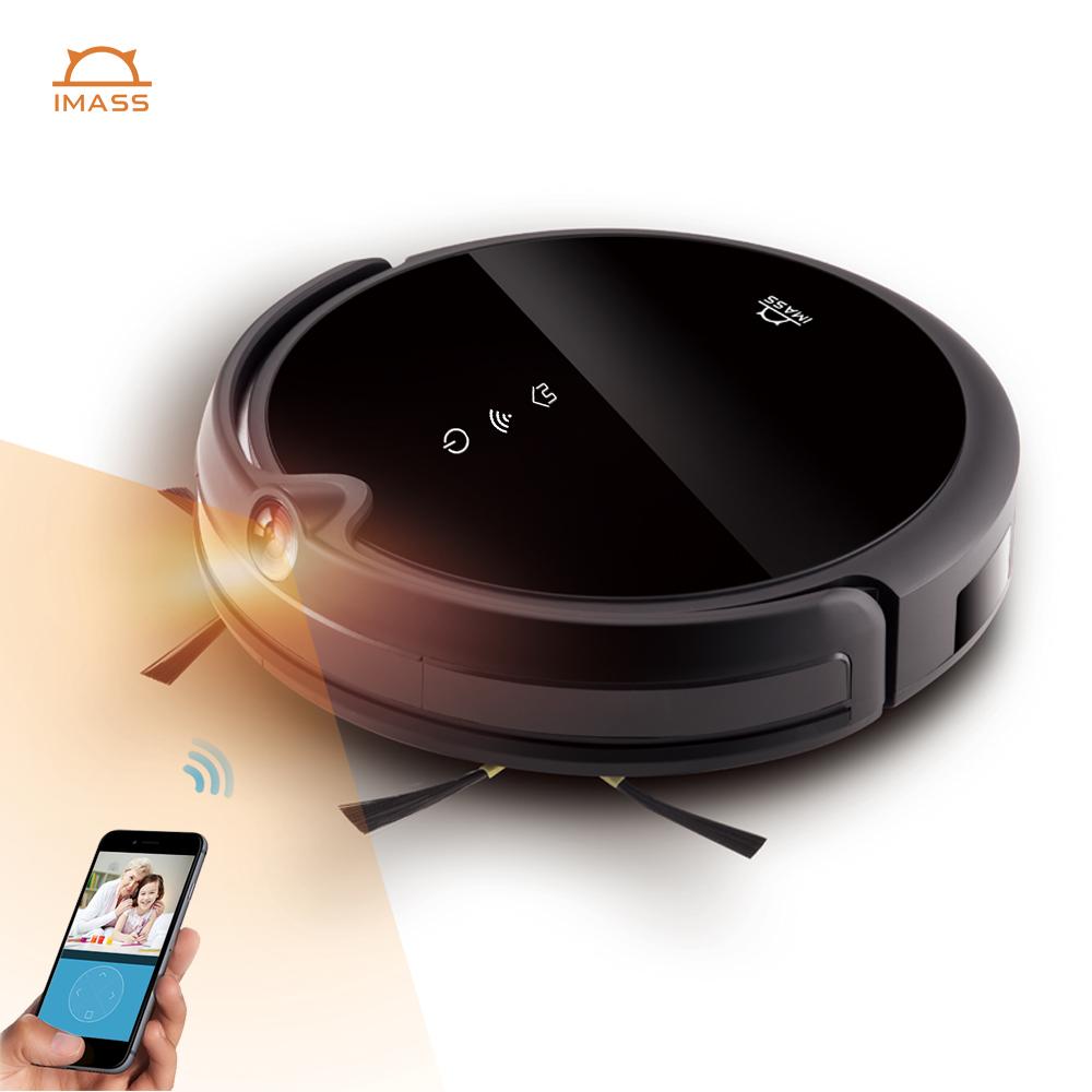 Customized sweeping cleaning appliances aspiradora robot smart WIFI APProbot vacuum cleaner camera