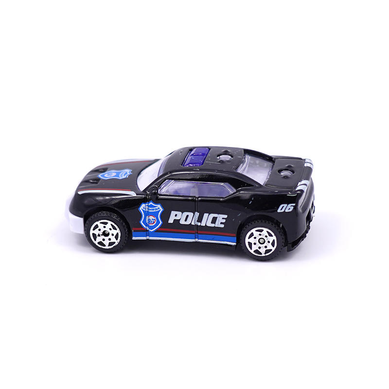 Mini plastic Children's toy car model sports car gift Kids small friction car toys