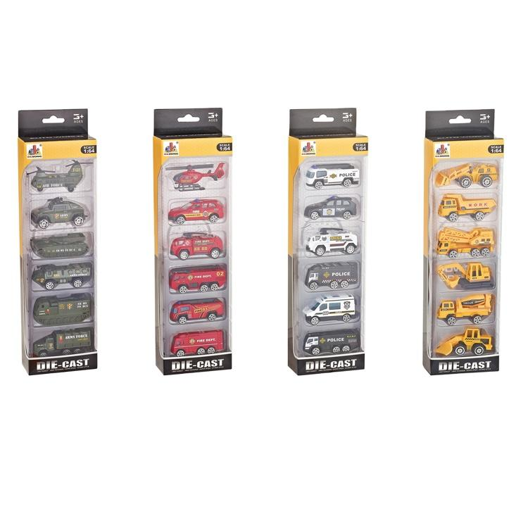 Mini Pull Back Toy Car Sets Sliding Diecasting Toy Truck For Boy
