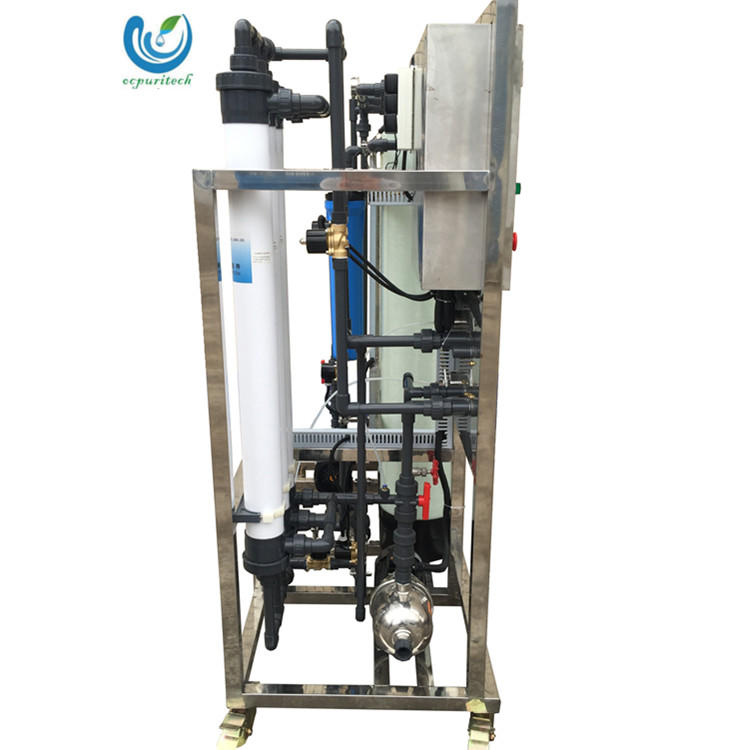 ultrafiltration system with ultrafiltration membrane