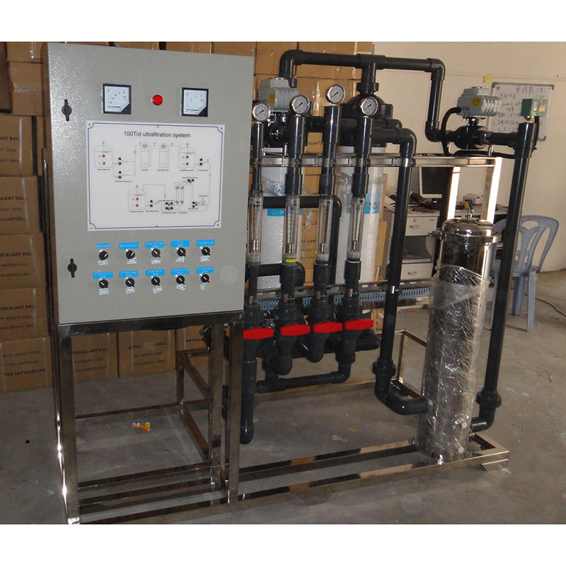 100TPD water treatment system ultrafiltration unit
