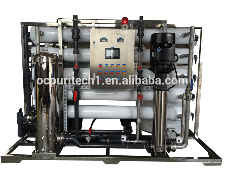 10TPH large scale industry water treatment Ultrafiltration system
