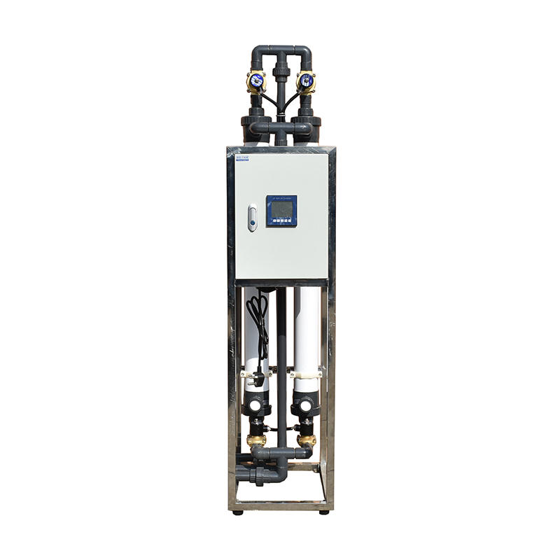 Mini 500LPH Water Ultrafiltration Car Wash Treatment Ultra Filtration System Recycling Filter Equipment Canpure Uf Machine Plant