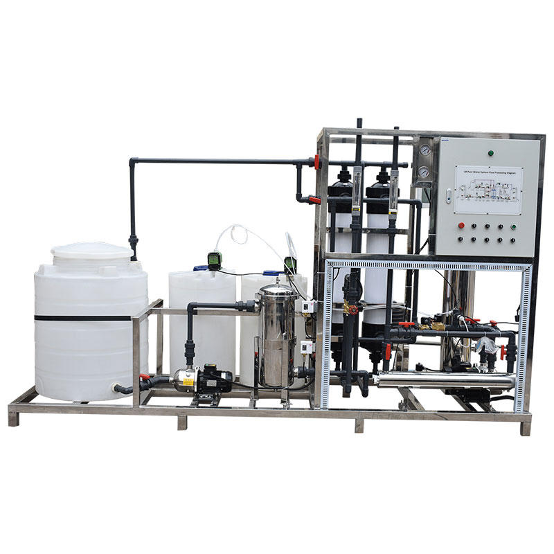 3TPH industrial water treatment water filtertechnology uf ultrafiltration system for water purification