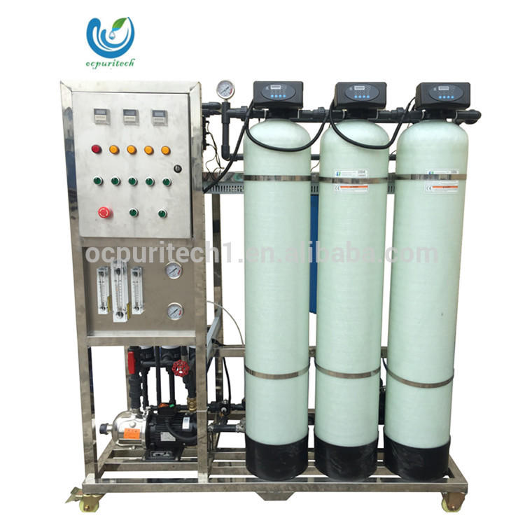 750L/H Ultra filtration UF / RO water filtration plant salt water resistant epoxy paints