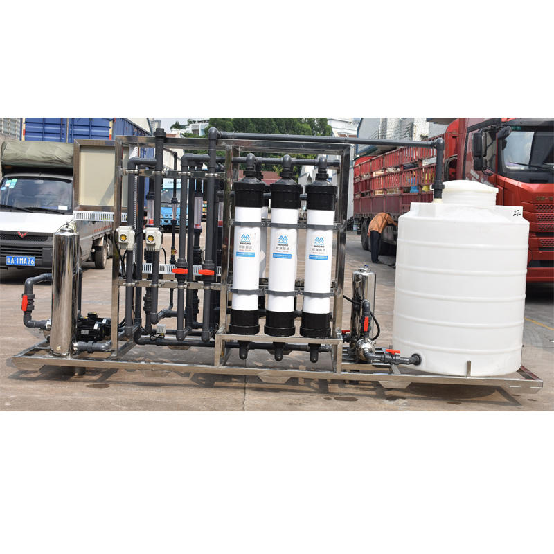6 ton industrial application uf membranefilterUltrafiltration water purification system
