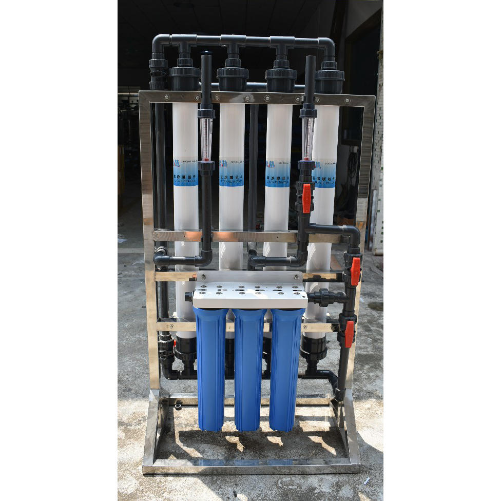 1000LPH Car Washing Water Treatment Uf Ultrafiltration Machine