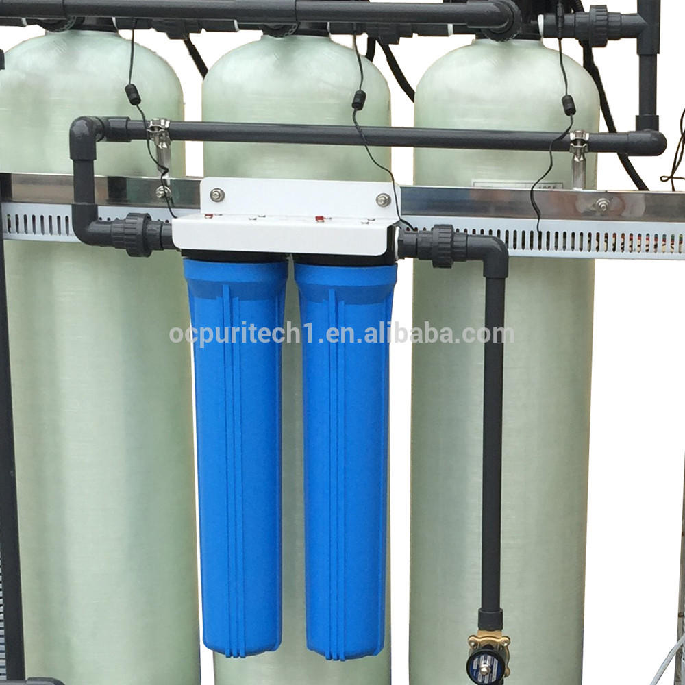 UF Filter Machine 750L/H Ultrafiltration Water Treatment System For UF Membrane
