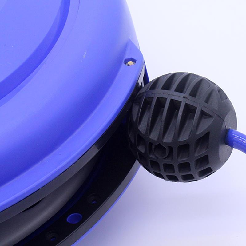 Blue PU Tube Air Drum Automatic Retractor