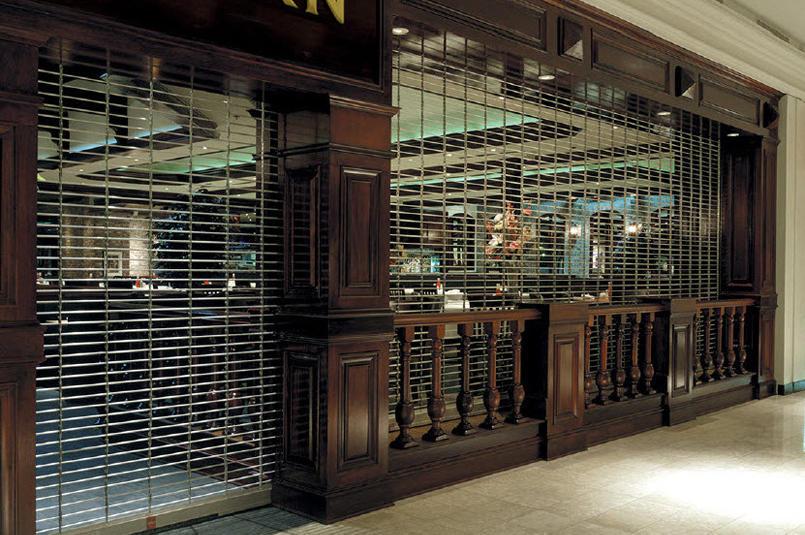 Stainless Steel Security Grilles Roller Shutter Door Design for Shop