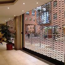 Modern Beautiful Aluminum Grill Roll up Security Roller Shutter Door