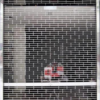 Aluminum Roll up Security Grill Roller Door Door Grill Manufacturer