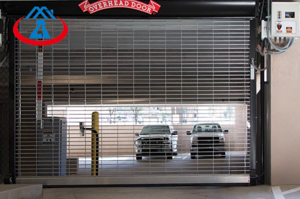Hot Sale Best Security Stainless Steel Grilles Rolling Shutter Door for Commercial