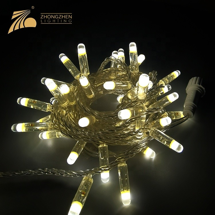 Factory supply adorable lighting color ip65 outdoor decoration led string christmas lights