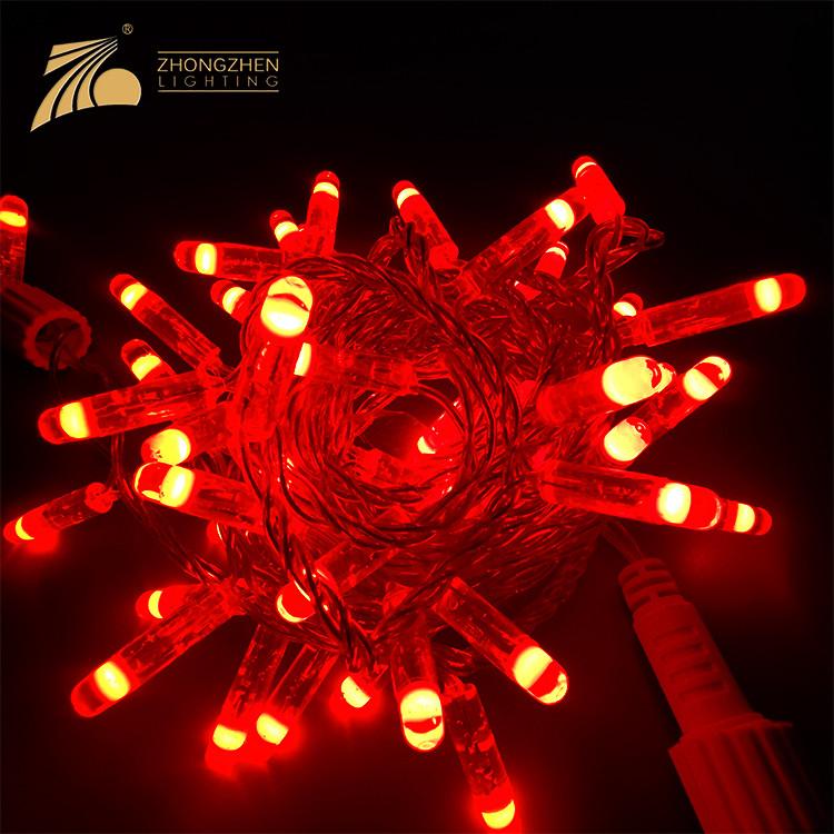 Project Customization 5M 10M Christmas Tree Decoration Colorful 220V Flexible LED Strip Light