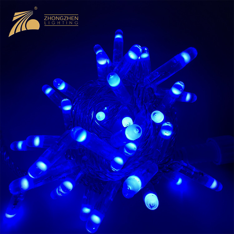 High Quality IP65 Outdoor Holiday Decoration Street Christmas Tree String LED String Lights