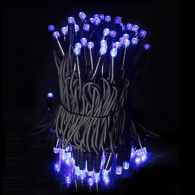 Energy Saving Rubber Wire Multicolor Outdoor IP65 Holiday Decoration 3W 6W LED String Light
