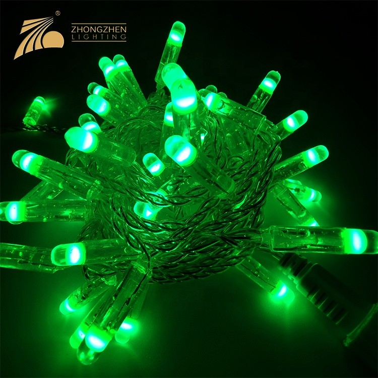 High Quality 220V 3W 6W IP65 PVC Copper Wire Multicolor Optional Festival Outdoor Decoration LED String Light