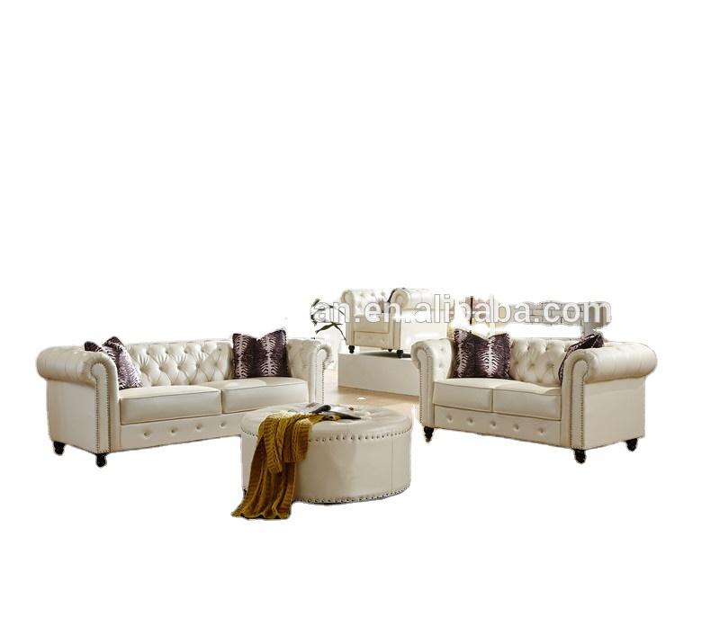 vintage new chesterfield leisure baice sofa set for living room set