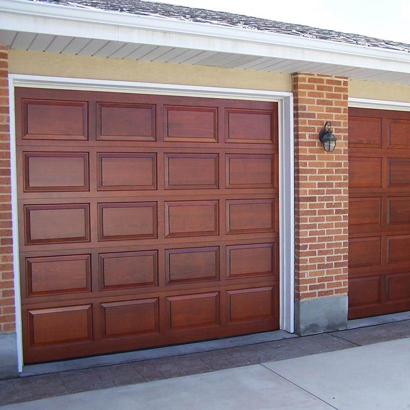 Hot sale customized aluminum panel glide sectional overhead garage door