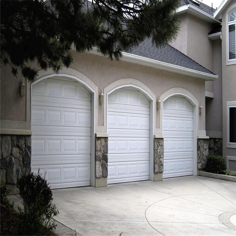 Steel/glass garage doorautomatic overhead garage door 16'*7'