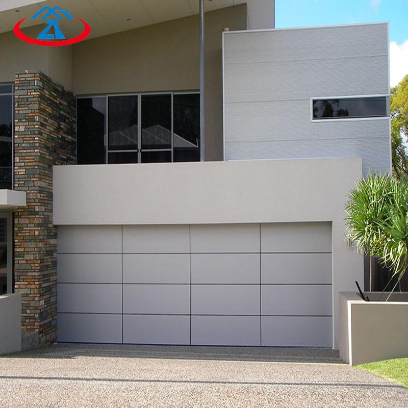 High qualityAutomaticaluminum panel sectional overhead garage door
