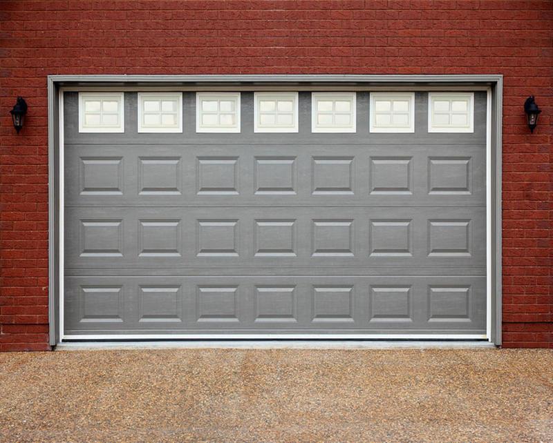 Finished surface electric garage door new garage doors for sale