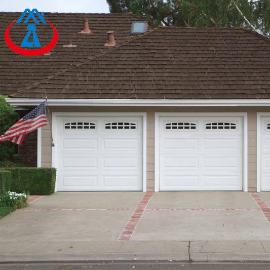 Standard Two Car Electric Aluminum Garage Door for House