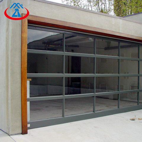 Building residential 16x8 garage door wood garage door
