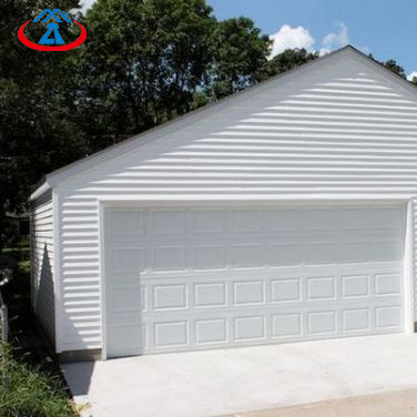 8x7 Electric Aluminum With PU Overhead Sectional Garage Door