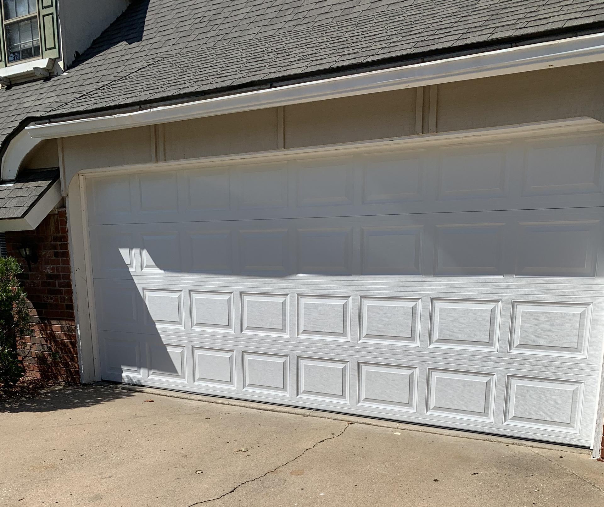 9x8 Sectional Garage Doors