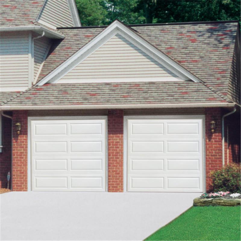 Automatic garage door 500mm panel9*8 garage door overhead garage door